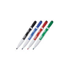 Expo? Magnetic Dry Erase Markers with Eraser Fine Tip Red
