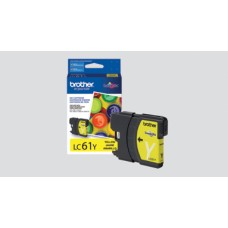 Ink Cartridge, 450 Page Yield, Yellow, LC61