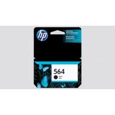 HP 564 Ink Cartridge, 250 Page Yield, Black