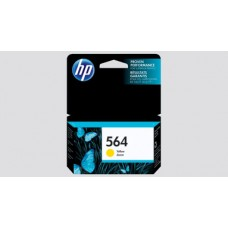HP 564 Ink Cartridge, 250 Page Yield, Yellow