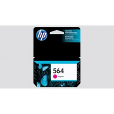 HP 564 Ink Cartridge, 250 Page Yield, Magenta