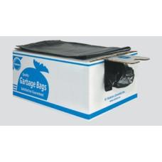 BAGS BLACK EX STRONG 35X50 100/BX