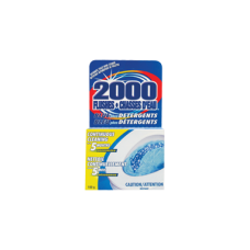 2000 FLUSHES BLUE WITH DETERGENT 10