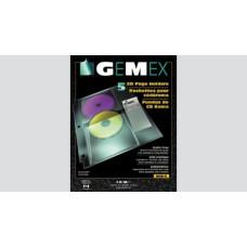 4CD-5 CD HOLDER-GEMEX 4/PKTS/SHT